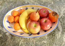 Fruits bowl Royalty Free Stock Photography