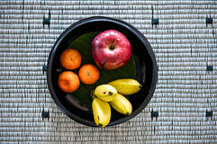 Fruits bowl, fruits basket Stock Photography