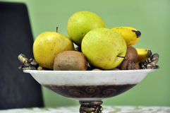 Fruits in a bowl Royalty Free Stock Photos
