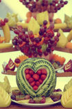 Fruits buffet Stock Photography