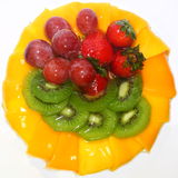 Fruits Cake Royalty Free Stock Images