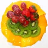 Fruits Cake Royalty Free Stock Images