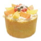 Fruits cake Royalty Free Stock Image
