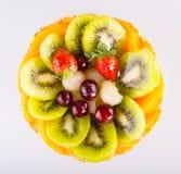 Fruits Cake Stock Photography
