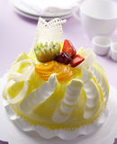 Fruits cake Royalty Free Stock Photos