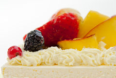 fruits on a cake Royalty Free Stock Photography