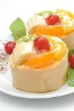 Fruits cakes  Royalty Free Stock Photo