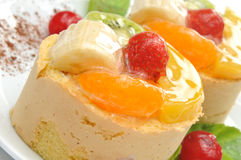 Fruits cakes Stock Photo