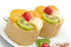 Fruits cakes  Stock Photos