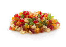 Fruits candied. Royalty Free Stock Photos
