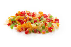 Fruits candied. Royalty Free Stock Photo