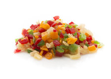 Fruits candied. Royalty Free Stock Image