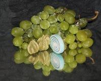 Fruits,candys Stock Photos