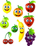 Fruits Cartoon Royalty Free Stock Image