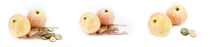 Fruits cheaper Royalty Free Stock Images