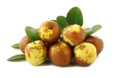 Fruits chinois de jujubes Photos libres de droits