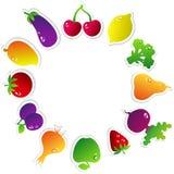 Fruits Circle Royalty Free Stock Images