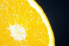 Fruits close up with orange Royalty Free Stock Photos