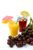 Fruits and cocktail Stock Photography