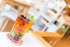 Fruits cocktail mixed Royalty Free Stock Photos