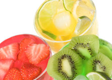 Fruits cocktails Royalty Free Stock Image