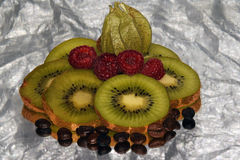 Fruits and coffe Stock Photo