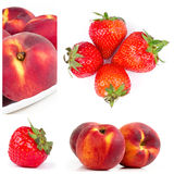 Fruits collage Royalty Free Stock Photography