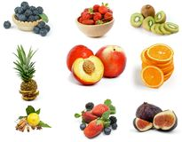 Free Fruits Collection Royalty Free Stock Photo - 29432185