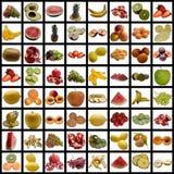 Fruits collection. Stock Photos