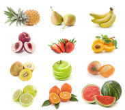 Fruits collection Royalty Free Stock Image