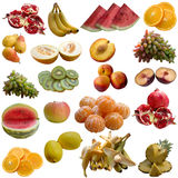 Fruits collection. Stock Images