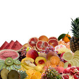 Fruits collection. Royalty Free Stock Image