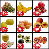 Fruits collection. Pomegranate Vitamin Tropical Sweet Delicious Summer Red Seed Raw Material stock image