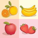 Fruits Collections. Juicy and fresh Fruits Collections Stock Photos
