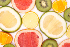 Fruits colourfully background Royalty Free Stock Photography