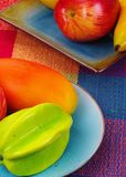 Fruits combination Stock Image