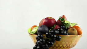 Fruits Composition All Together stock video footage