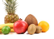 Fruits composition. Stock Images