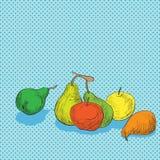 Fruits composition Stock Photos