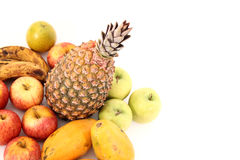Fruits on corner Stock Photography