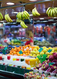 Fruits on counter Stock Photography