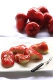 Fruits découpés Image stock