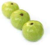 Fruits d'Amla avec l'orientation sélectrice Photo libre de droits
