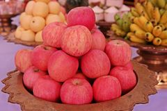 Fruits d'Apple Image stock
