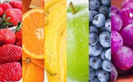 Fruits d'arc-en-ciel Image libre de droits