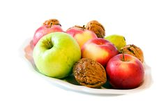 Fruits d'automne photographie stock libre de droits