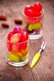 Fruits d'imitation supprimables Photo libre de droits