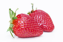 Fruits d'isolement - fraises Photographie stock libre de droits