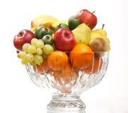 Fruits dans le vase Image libre de droits