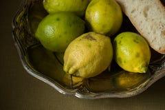 Fruits de citron et multiplié image stock